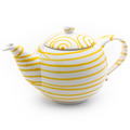 Gmundner Gelbgeflammt, Teekanne glatt 1,5L