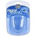 Go Travel Razor Guards Antibakterieller Rasierklingenschutz 6,5 cm weiss