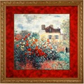 Goebel Artis Orbis Claude Monet Das Künstlerhaus - Wandbild