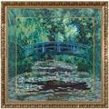Goebel Artis Orbis Claude Monet Japanischer Garten - Wandbild