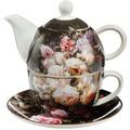 Goebel Artis Orbis Jean Baptiste Robie Stillleben mit Rosen - Tea for One