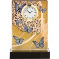 Goebel Artis Orbis Joanna Charlotte Blue Butterflies - Tischuhr