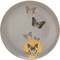Goebel Artis Orbis Joanna Charlotte Grey Butterflies - Frühstücksteller