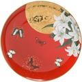 Goebel Artis Orbis Joanna Charlotte Lilies Red - Frühstücksteller