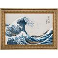 Goebel Artis Orbis Katsushika Hokusai Die Welle - Wandbild limitiert 999 Stück