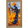 Goebel Artis Orbis Louis Comfort Tiffany Pfau - Reliefbild