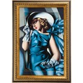 Goebel Artis Orbis Tamara de Lempicka Woman with Gloves - Wandbild
