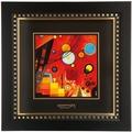 Goebel Artis Orbis Wassily Kandinsky Schweres Rot - Wandbild