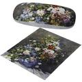 "Goebel Brillenetui Auguste Renoir - ""Frühlingsblumen"" 16 cm"