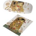 """Goebel Brillenetui Gustav Klimt - """"Der Kuss"""" 16 cm"""