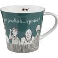 "Goebel Coffee-/Tea Mug Barbara Freundlieb - ""Feine Kerle"" 9,5 cm"