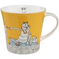 "Goebel Coffee-/Tea Mug Barbara Freundlieb - ""Für meine Katze"" 9,5 cm"