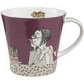 "Goebel Coffee-/Tea Mug Barbara Freundlieb - ""I don't get older"" 9,5 cm"