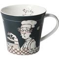 "Goebel Coffee-/Tea Mug Barbara Freundlieb - ""Männer sind unwiderstehlich"" 9,5 cm"