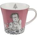 "Goebel Coffee-/Tea Mug Barbara Freundlieb - ""Zwei Diäten"" 9,5 cm"