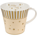 Goebel Coffee-/Tea Mug Christmas Feeling - Streifen 9,5 cm
