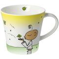 "Goebel Coffee-/Tea Mug Der kleine Yogi - ""Glückstasse"" 9,5 cm"