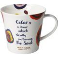 "Goebel Coffee-/Tea Mug Kandinsky - ""Color is a Power..."" 9,5 cm"