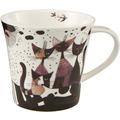 "Goebel Coffee-/Tea Mug Rosina Wachtmeister - ""Matalda va a passeggio"" 9,5 cm"