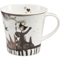 "Goebel Coffee-/Tea Mug Rosina Wachtmeister - ""Modista"" 9,5 cm"