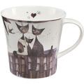 "Goebel Coffee-/Tea Mug Rosina Wachtmeister - ""Virgola e sua famiglia"" 9,5 cm"