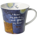 "Goebel Coffee-/Tea Mug Vincent v. Gogh - ""I dream my..."" 9,5 cm"