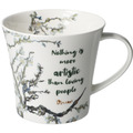 "Goebel Coffee-/Tea Mug Vincent v. Gogh - ""Nothing is more..."" 9,5 cm"