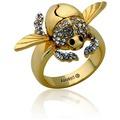 Goebel Couture Kingdom Aladdin CK Alad.Gold.Scarabäus Ring GG