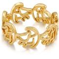 Goebel Couture Kingdom König der Löwen König der Löwen Ring Simba Gold Gr. 8