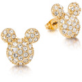 "Couture Kingdom Couture Kingdom Ohrstecker Disney Pavé ""Micky Maus"" 1,0 x 0,5 cm"