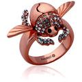 "Couture Kingdom Ring Disney Aladdin ""Goldener Scarabäus"" D  1,65 cm"