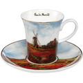 "Goebel Espressotasse Claude Monet - ""Tulpenfeld"" 7,5 cm"