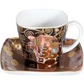 """Goebel Espressotasse Gustav Klimt - """"Die Erfüllung"""" 6,5 cm"""