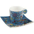 "Goebel Espressotasse James Rizzi - ""Under the Deep Blue Sea"" 6,5 cm"