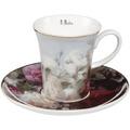"""Goebel Espressotasse Jean Baptiste Robie - """"Stillleben mit Blumen"""" 7,5 cm"""
