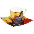 "Goebel Espressotasse Paul Gauguin - ""Frau mit Mango"" 6,5 cm"