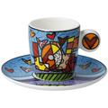 "Goebel Espressotasse Romero Britto - ""Love"" 7,0 cm"