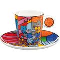 "Goebel Espressotasse Romero Britto - ""Spring Elephant"" 7,0 cm"