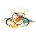 "Goebel Espressotasse Wassily Kandinsky - ""Kreise im Kreis"" 6,5 cm"