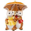 """Goebel Figur Hasenpaar - """"Gemeinsam glücklich"""" 15,0 cm"""