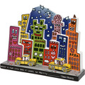 "Goebel Figur James Rizzi - ""What a Fun City"" 27,50 cm"