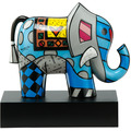 "Goebel Figur Romero Britto - ""Great India 2"" 21,5 cm"