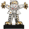 "Goebel Figur Romero Britto - ""Golden Hug Too"" 47,0 cm"