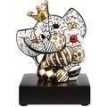 "Goebel Figur Romero Britto - ""Golden Spring Elephant"" 14,0 cm"