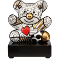 "Goebel Figur Romero Britto - ""Golden Truly Yours"" 12,5 cm"