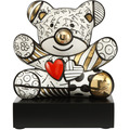 "Goebel Figur Romero Britto - ""Golden Truly Yours"" 30,0 cm"