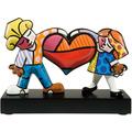 """Goebel Figur Romero Britto - """"Heart Kids"""" 16,0 cm"""