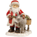 """Goebel Figur Weihnachtsmann """"Bald sind wir da"""" 24,0 cm"""