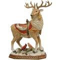 Goebel Fitz and Floyd Fitz & Floyd Christmas Collection Hirsch mit Vögeln