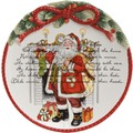 Goebel Fitz and Floyd Fitz & Floyd Christmas Collection Weihnachtsteller